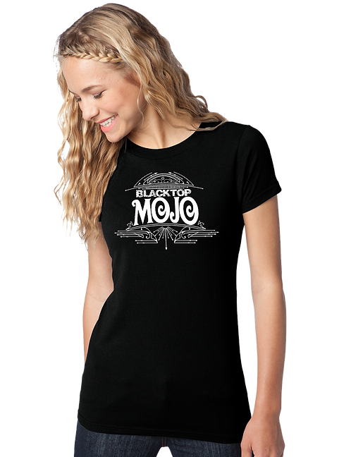 Black Top Mojo Girls Tee