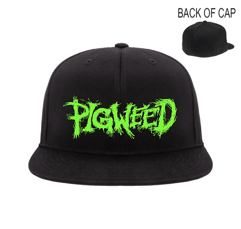 PIGWEED Flex Fit Flatbill Embroidered Cap