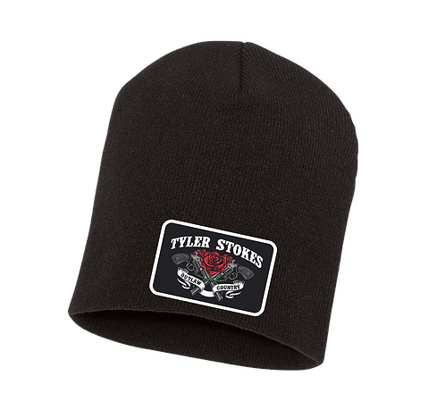 Tyler Stokes Patch Beanie