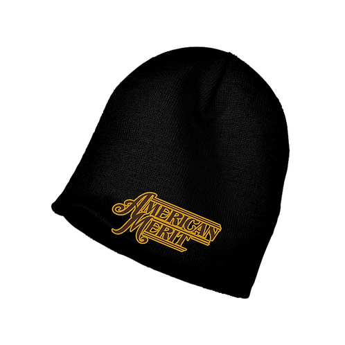 American Merit Embroidered Beanie