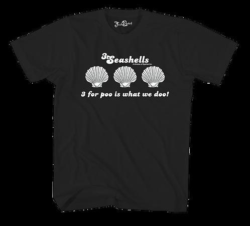 3 Seashells TEE