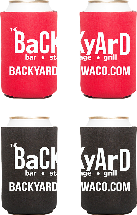 2 Backyard Wrap Koozies