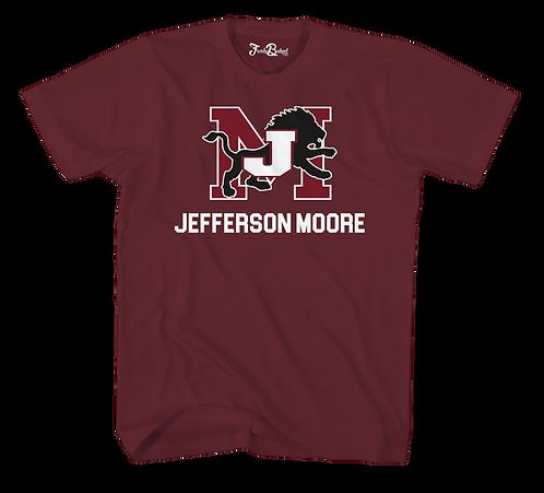 Jeff Moore Maroon Tee