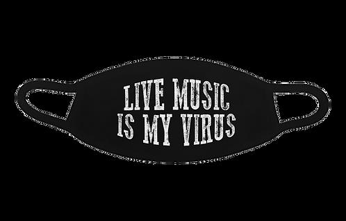 Live Music Is My Virus Mask
