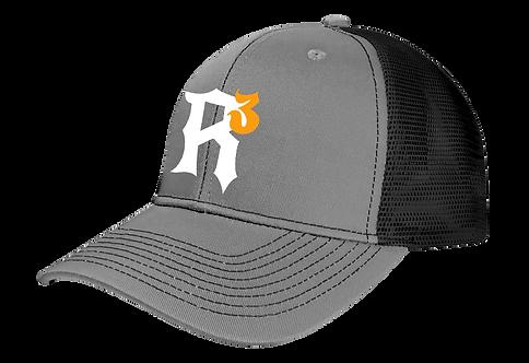 RRR Trucker Cap Gray Front