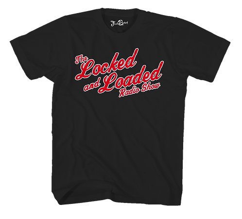 Locked and Loaded Script SS Tee