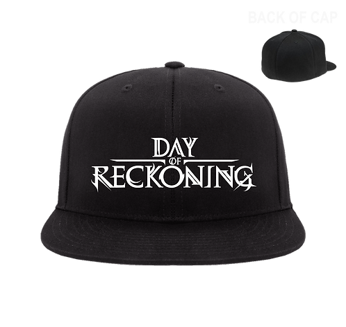 Day of Reckoning Flex Fit Flatbill Embroidered Cap
