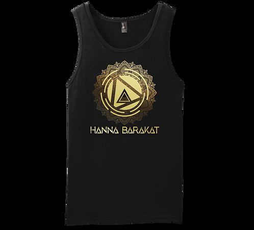 Hanna Barakat Gold Unisex Tank
