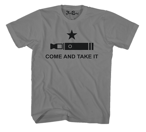 Come and Take It Vape Tee Multiple Colors Available