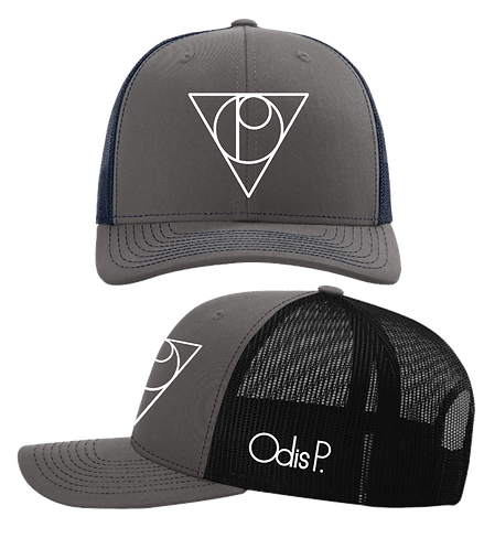 Odis P. Gray Front Embroidered Snapback