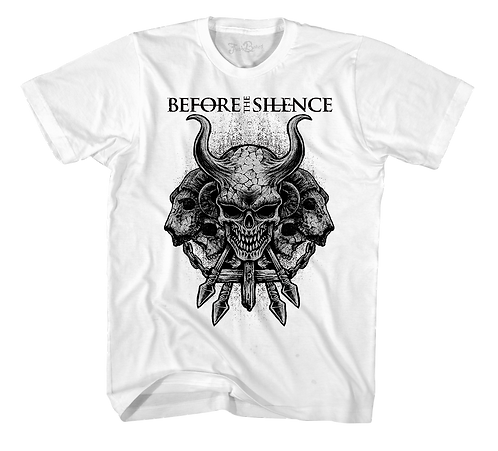Before The Silence Tee White