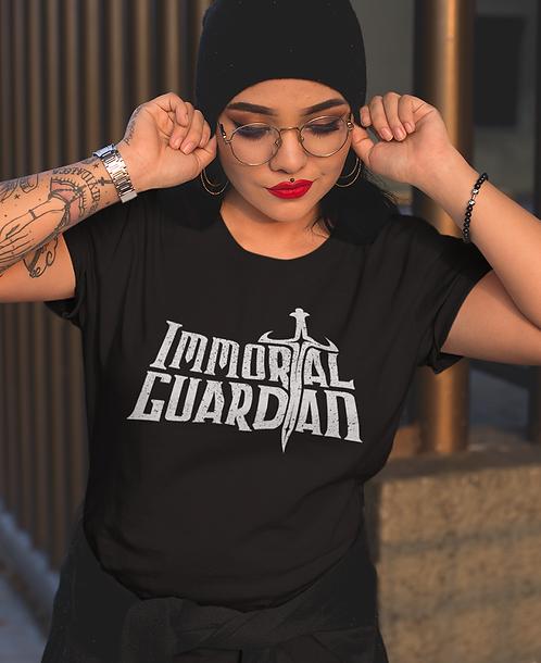Immortal Guardian Text Girls Tee