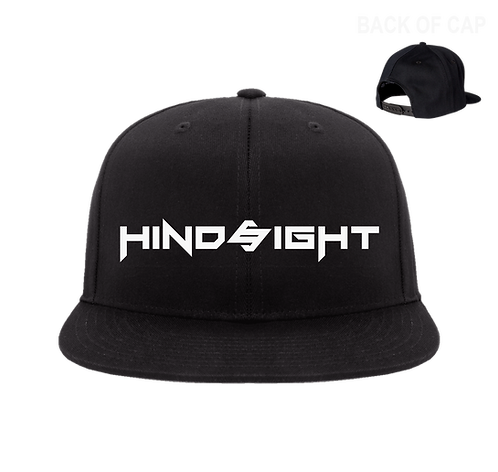 Hindsight Snap Back Flatbill Embroidered Cap