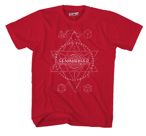 Sensitiser Star Red Tee