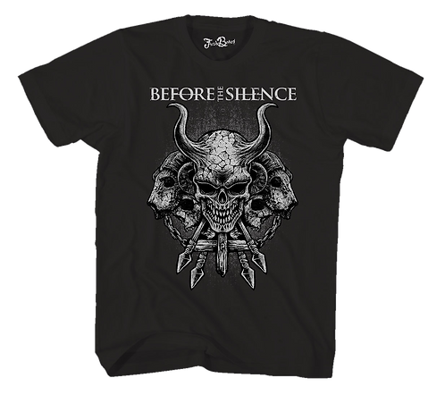 Before The Silence Tee Black