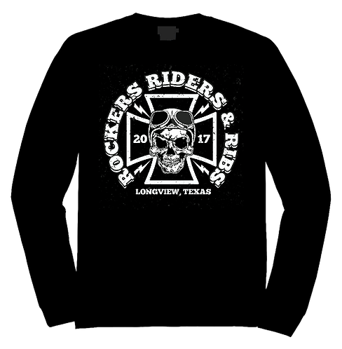 RRR Iron Cross LS Tee