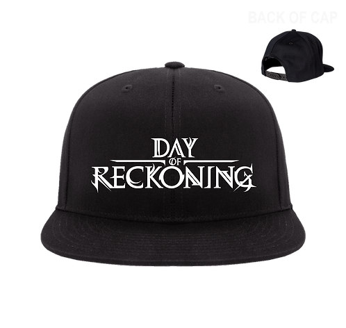 Day of Reckoning Snap Back Flatbill Embroidered Cap