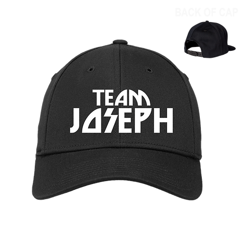 Team Joseph Snap Back  Curved Bill Embroidered Cap
