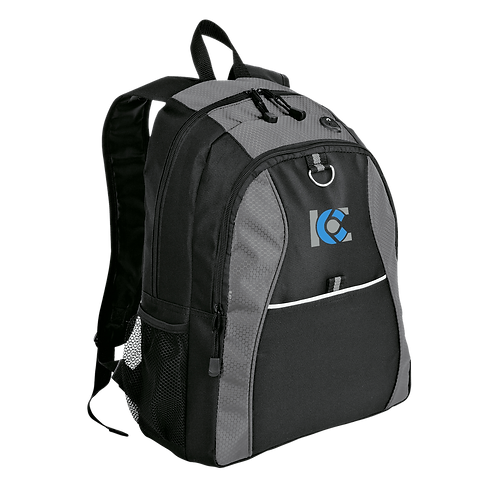 ICE Honeycomb Embroidered Backpack