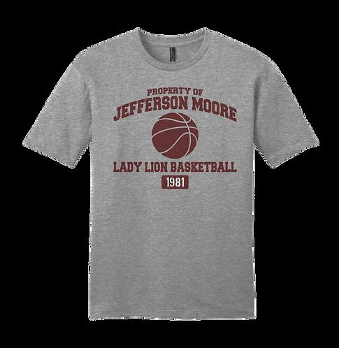 Jeff Moore Property of Lady Lion Basketball Tee