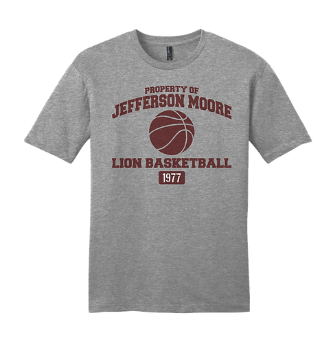 Jeff Moore Property of Basketball Tee