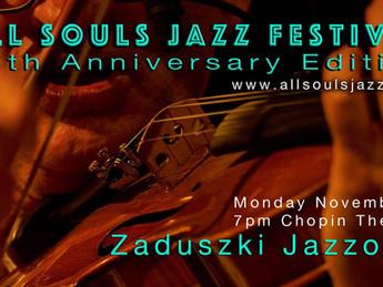 20th All Souls Jazz Festival / Zaduszki Jazzowe w Chicago