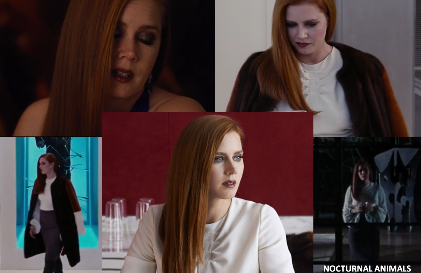 "Costumes for the movie ""Nocturnal Animals"" - Project for TOM FORD - pattern making"