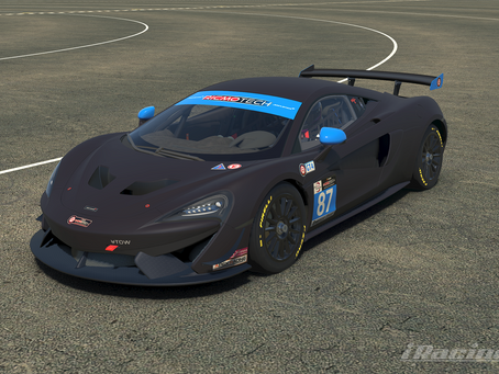 Mclaren GT4 Livery Guides Available