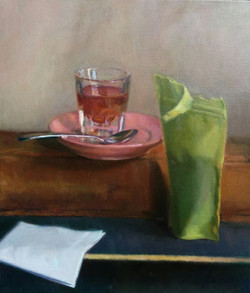 Still Life with Loose Tea