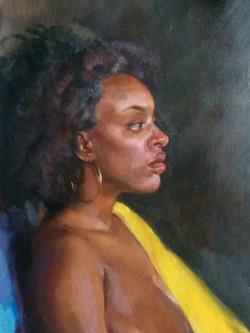 Portrait with Yellow Sash