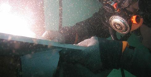 水中溶接・切断工事