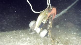 ROVによる深海魚礁撤去