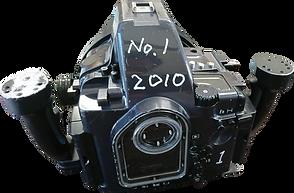 水中撮影用カメラ