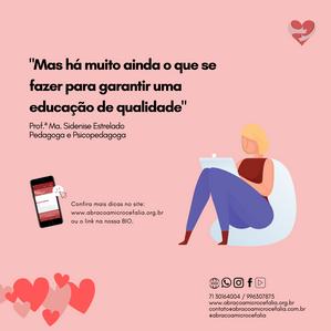 Educação Inclusiva é tema do projeto aBRAÇO Convida dessa quinta-feira (01)