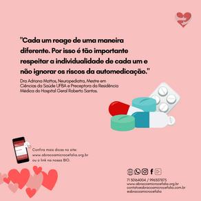 Riscos da Automedicação é tema do aBRAÇO Convida