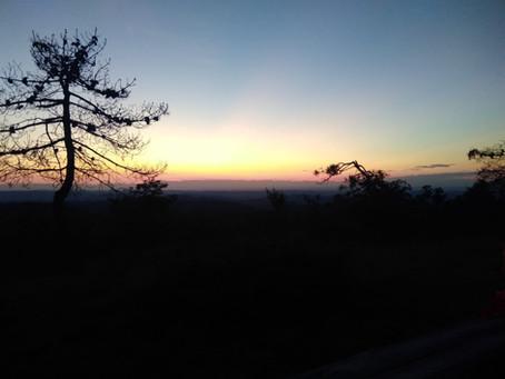 Diario delle escursioni 2020 Escursione n. 5 Notturna al Bric dei Gorrei