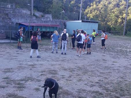 Diario delle escursioni 2020 escursione n. 8 Notturna di San Lorenzo a Olbicella