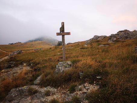 Diario delle escursioni 2020 escursione n. 9 Notturna di S. Lorenzo sull'Alta Via dei Monti Liguri