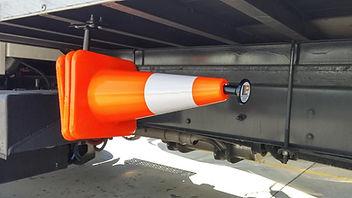 safey cone holder