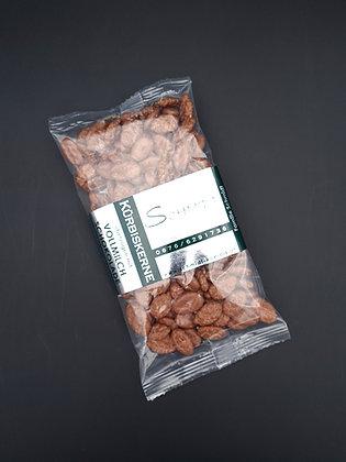 Kürbiskerne überzogen mit Vollmilchschokolade 100g