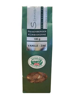 Kürbiskerne Vanille - Zimt 100g