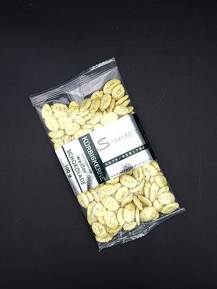 Kürbiskerne überzogen mit weißer Schokolade 100g
