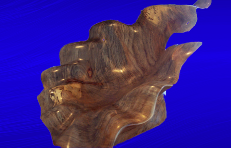 Spalted Pecan