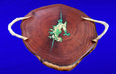 Mesquite With Inlayed Copper Splash