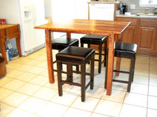 Bookmatched Mesquite Dining Table