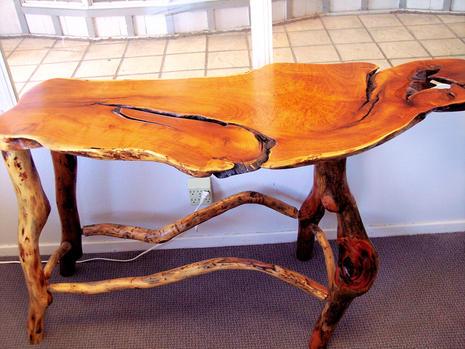 Rustic Mesquite Table