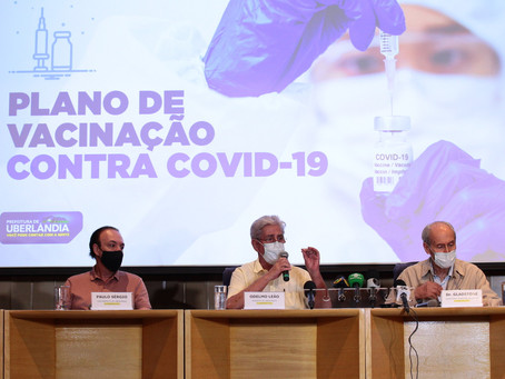 Prefeitura de Uberlândia anuncia Plano de Vacinação contra Covid-19