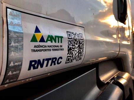 ANTT prorroga validade do RNTRC por tempo indeterminado