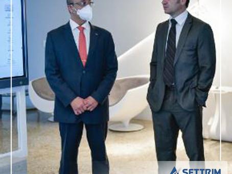 Presidente da CNT recebe visita do ministro da Justiça Anderson Torres