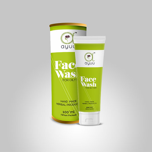 AYUU FACE WASH FOR OILY SKIN